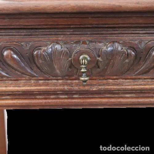 Antigüedades: Armario raro con encimera de mármol - Siglo XVIII   18th century - Rare cabinet with marble top - Foto 9 - 288220183