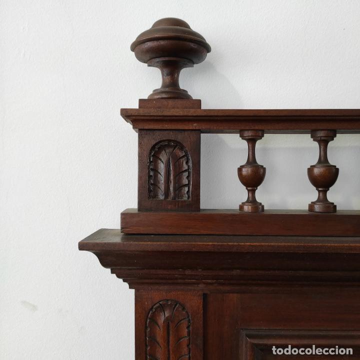 Antigüedades: Armario raro con encimera de mármol - Siglo XVIII   18th century - Rare cabinet with marble top - Foto 21 - 288220183