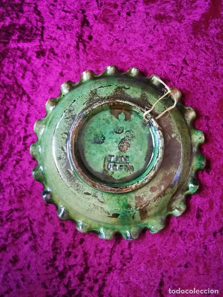 Antigüedades: Precioso cenicero de barro vidriado. De Tito, Úbeda. Años 70 - Foto 5 - 288314493