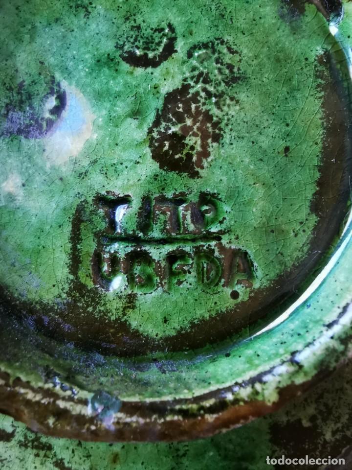 Antigüedades: Precioso cenicero de barro vidriado. De Tito, Úbeda. Años 70 - Foto 6 - 288314493