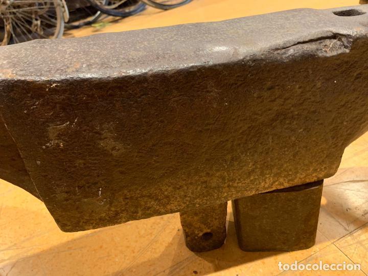 Antigüedades: Antiguo yunke de unos 100 kg - Foto 6 - 288317783