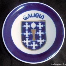 Antigüedades: PLATO ESCUDO DE GALICIA, SEMINARIO SARGADELOS CASTRO. Lote 288383013
