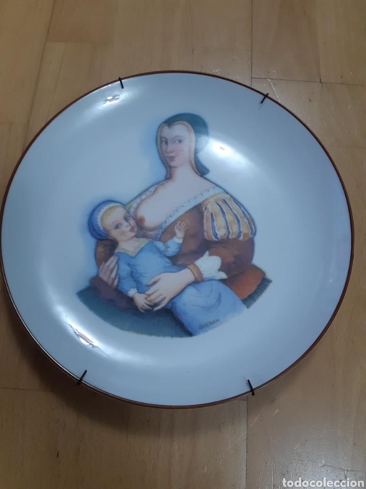 Antigüedades: Plato serie Nodriza sobre temas de Maternidad. Edición Limitada Porcelana Milupa Santa Clara. Ver - Foto 2 - 288406553