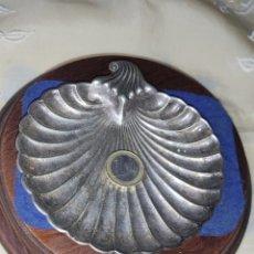 Antigüedades: ANTIGUA VENERA BAÑADA EN PLATA.. Lote 288416233