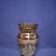Antigüedades: JARRON EN CRISTAL TALLADO. Lote 288443748