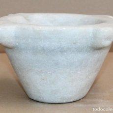 Antigüedades: MORTERO DE PIEDRA O MARMOL DEL SIGLO XIX. Lote 288463533