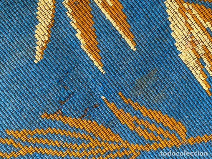 Antigüedades: TAPIZ ANTIGUO MOTIVO FLORAL , AUBUSSON TAPESTRY - Foto 17 - 288480923