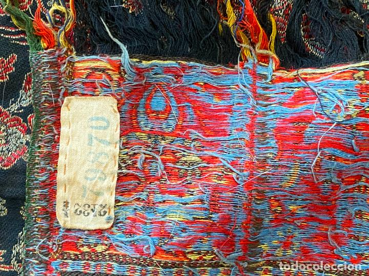 Antigüedades: TAPIZ ANTIGUO POSIBLE KASHMIR , - Foto 6 - 288482428