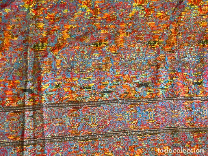 Antigüedades: TAPIZ ANTIGUO POSIBLE KASHMIR , - Foto 16 - 288482428