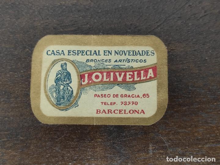 Antigüedades: Bonita Caja, Joyero Estilo Renacimiento - Madera y Cuero Policromado - Pies de Garra en Bronce - Foto 27 - 288487663