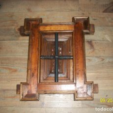 Antigüedades: ANTIGUA VENTANA CON REJAS. Lote 288505768