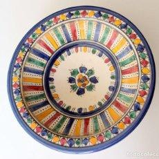 Antigüedades: ANTIGUA FRUTERO ARABE - DECORADO Y PINTADO A MANO. Lote 288509853