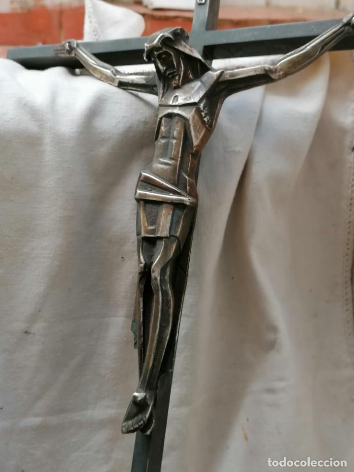 CRUZ BRONCE (Antigüedades - Religiosas - Cruces Antiguas)