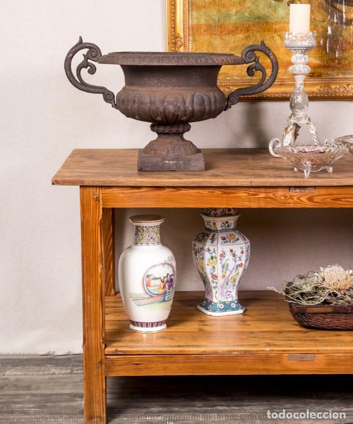 Antigüedades: Mesa De Sastre Antigua Restaurada Gradeira - Foto 2 - 288510193