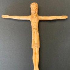 Antigüedades: CRISTO EN MAJESTAD YESO. Lote 288511493