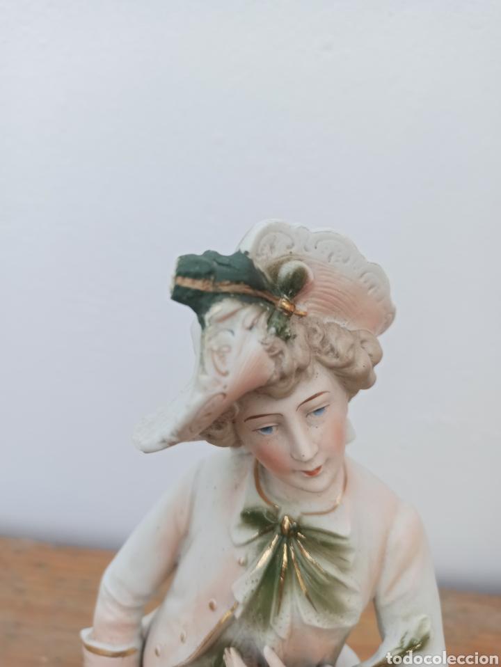 Antigüedades: Figura cerámica biscuits numerada - Foto 2 - 288512528