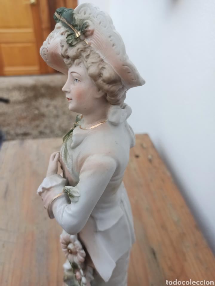 Antigüedades: Figura cerámica biscuits numerada - Foto 3 - 288512528