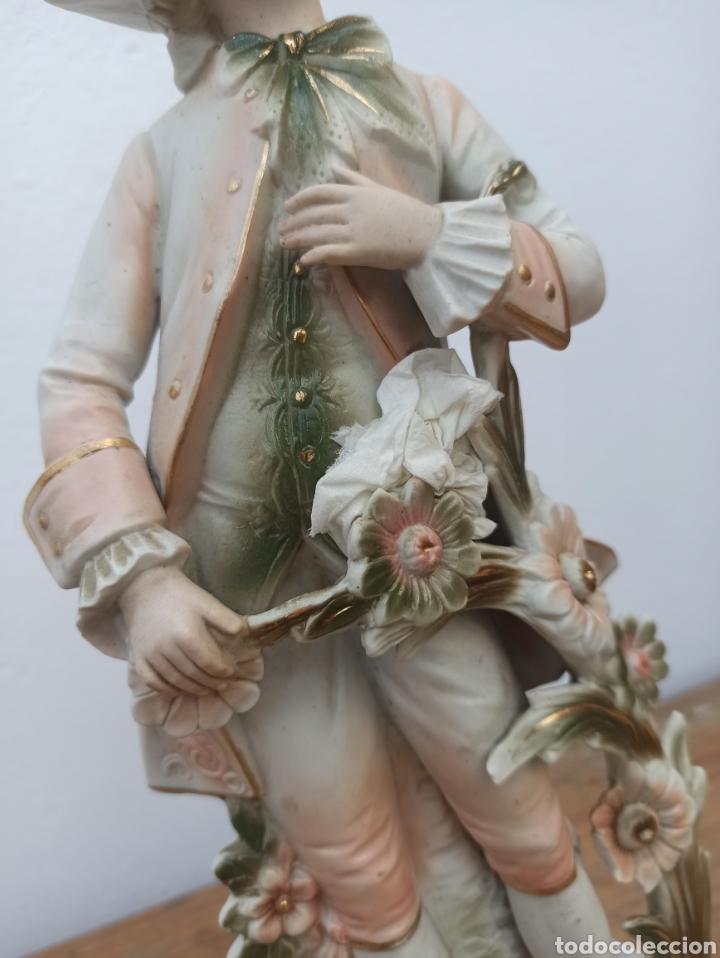 Antigüedades: Figura cerámica biscuits numerada - Foto 4 - 288512528