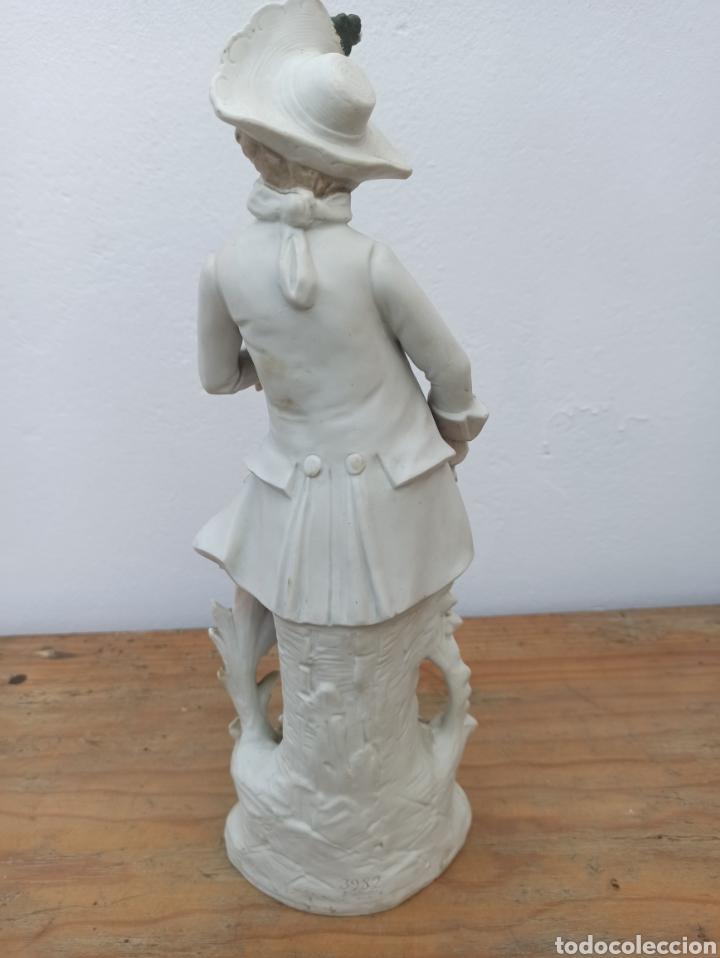 Antigüedades: Figura cerámica biscuits numerada - Foto 6 - 288512528