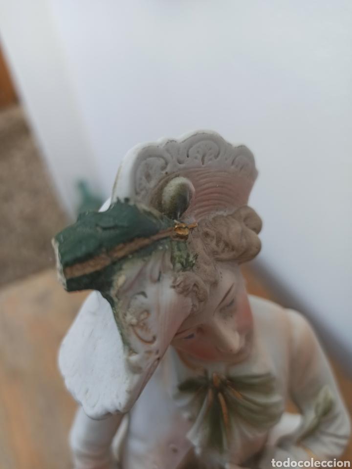 Antigüedades: Figura cerámica biscuits numerada - Foto 7 - 288512528