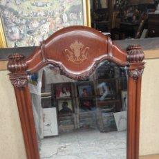 Antigüedades: MARCO CON ESPEJO CLÁSICO 103X80CM. Lote 288514143
