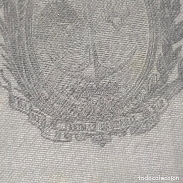Antigüedades: ANTIGUO ESCAPULARIO CON VIRGEN MARIA AUXILIADORA RARO MODELO ARCHICOFRADIA Y ESCUDO SALESIANO - Foto 4 - 288561728
