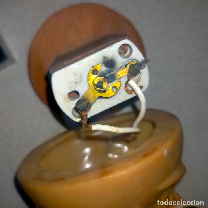 Antigüedades: antigua virgen milagrosa electrificada goma años 60 aproximadamente ¿lampara? interruptor de perilla - Foto 19 - 288569393