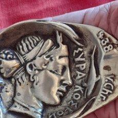 Antigüedades: CENICERO ANTIGUO DE BRONCE. Lote 288570328