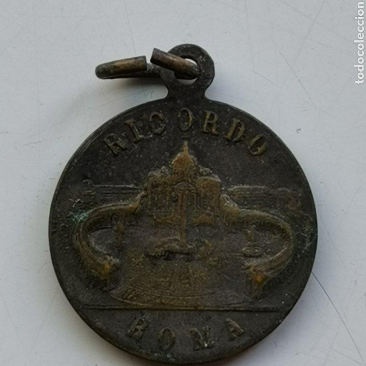 Antigüedades: Medalla de bronce, de Pius XII, - Foto 2 - 288598068