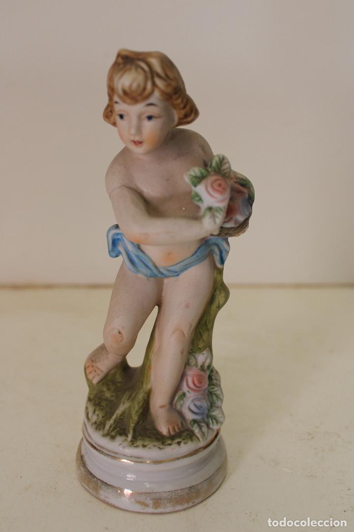 ANGEL DE PORCELANA ANTIGUO (Antigüedades - Porcelanas y Cerámicas - Otras)