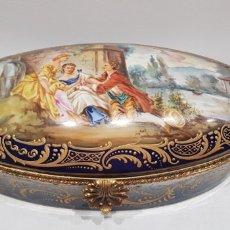 Antigüedades: GRAN JOYERO PORCELANA FRANCESA/SEVRES. Lote 288609878