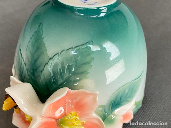 Antigüedades: FRANZ PORCELAIN BEE DESIGN , TEA CUP , PORCELANA CHINA , - Foto 5 - 288627513