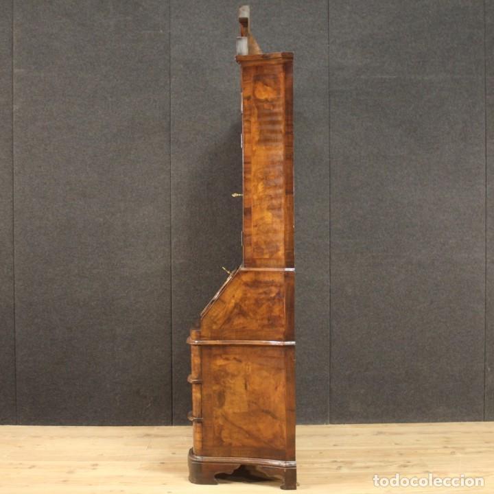 Antigüedades: Trumeau veneciano con incrustaciones de nogal, nudo, arce y haya - Foto 11 - 288631643