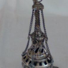Antigüedades: BOTAFUMEIRO DE PLATA. Lote 288647083