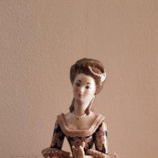 Antigüedades: FIGURA PORCELANA ANTIGUA LLADRÓ. Lote 288654518