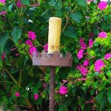 Antigüedades: LAMPARA DE PIE O HACHERO. Lote 288670073