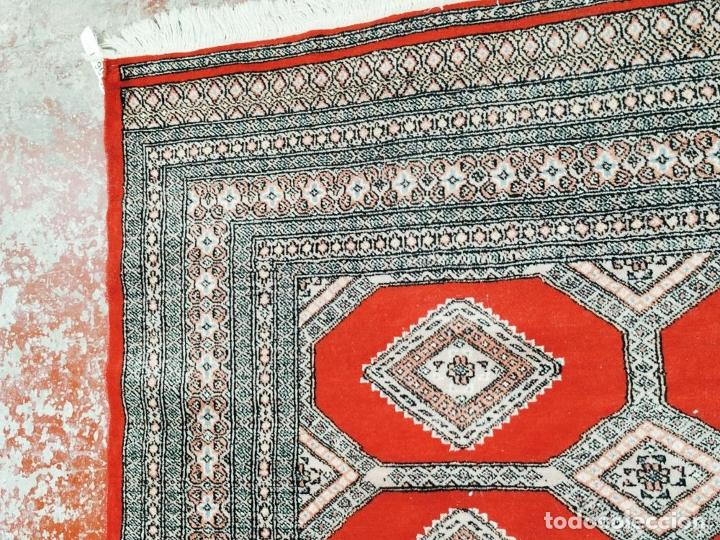 Antigüedades: ALFOMBRA AFGANA. LANA ANUDADA A MANO. 281X154 CM. AFGANISTÁN (?). CIRCA 1970 - Foto 7 - 288678718