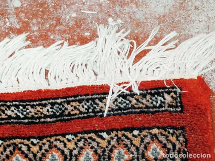 Antigüedades: ALFOMBRA AFGANA. LANA ANUDADA A MANO. 281X154 CM. AFGANISTÁN (?). CIRCA 1970 - Foto 12 - 288678718