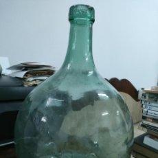 Antigüedades: ANTIGUA DAMAJUANA O GARRAFA DE CRISTAL - V. LEVANTE - 5L.. Lote 288681503