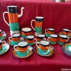 Antigüedades: JUEGO CAFE CASTRO SARGADELOS 12 SERVICIOS. Lote 288697498