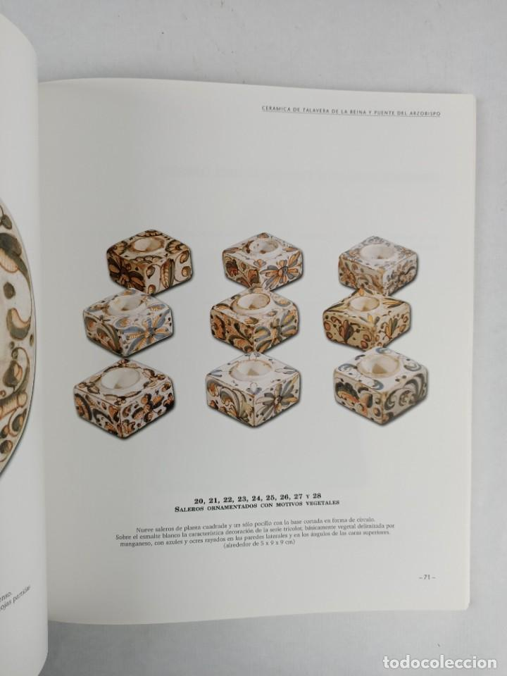 Antigüedades: CERAMICA DE TALAVERA DE LA REINA Y PUENTE DEL ARZOBISPO / EN LA COLECCION BERTRAN Y MUSITU - Foto 13 - 288698913