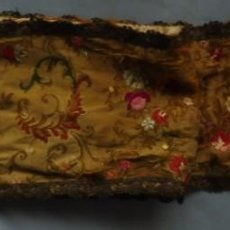 Oggetti Antichi: ANTIGUO PIEZA CON ENCAJE METÁLICO PRIMERA MITAD S.XX. Lote 288719668
