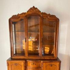 Antigüedades: MUEBLE VITRINA. Lote 288858668