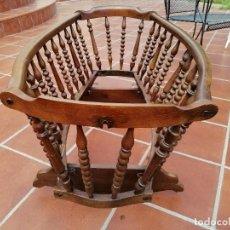 Antigüedades: ANTIGUA CUNA BALANCÍN. Lote 288902903