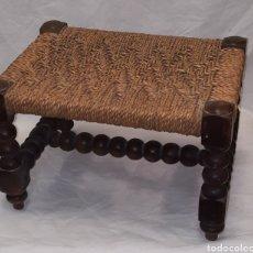 Antigüedades: BANQUETA REPOSAPIES MALLORCA. Lote 288911398