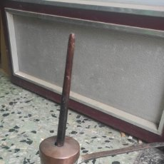 Antigüedades: CHOCOLATERA ANTIGUA DE COBRE. Lote 288958108