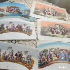 Antigüedades: DISEÑOS PARA ABANICOS , S. XIX. Lote 288984043