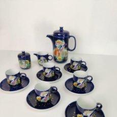 Antigüedades: EXCLUSIVO JUEGO DE CAFÉ TÉ 1001 NOCHES EN PORCELANA ROSENTHAL POR BJORN WIINBLAD. Lote 289013098