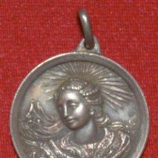 Antigüedades: MEDALLA RELIGIOSA - SANTA MARÍA DEL MIRACLE. SOLSONA. Lote 289033703