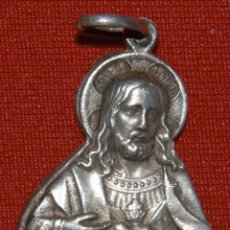 Antigüedades: MEDALLA FRANCESA - SAGRADO CORAZÓN DE JESÚS. Lote 289044598